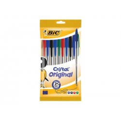 Pack 10 stylos BIC