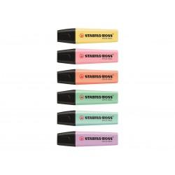Surligneurs Fluos 6 couleurs