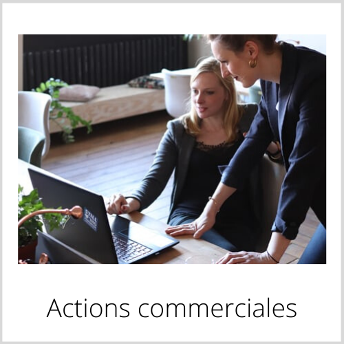 Actions commerciales