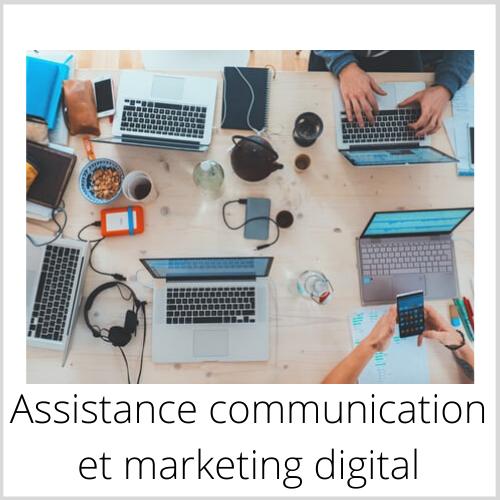 Assistance communication et marketing