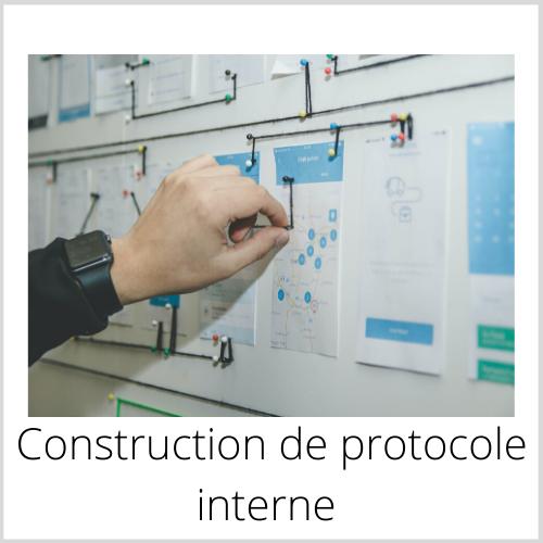 construction protocole interne