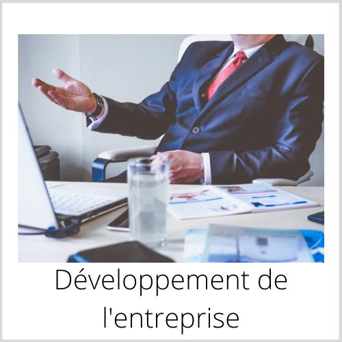 Développement de l'entreprise