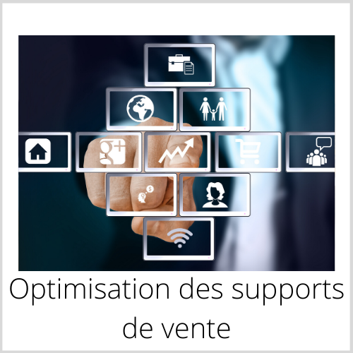 Optimisation des supports de vente