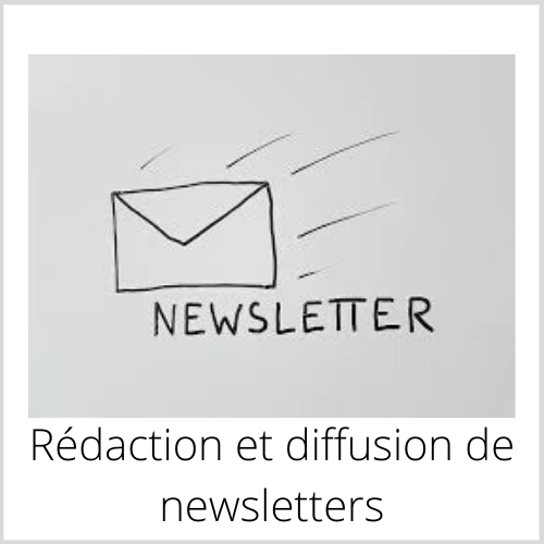 Rédaction et diffusion des newsletter