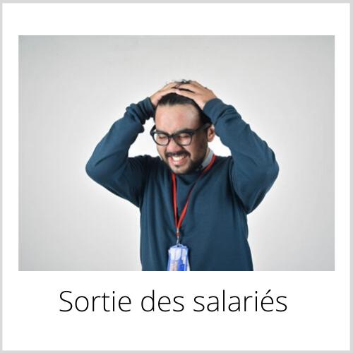 Sortie des salariés