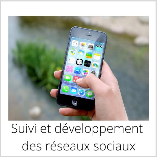 Suivi et développement des réseaux sociaux