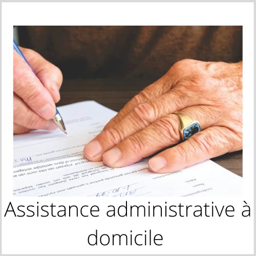 Assistance administrative à domicile