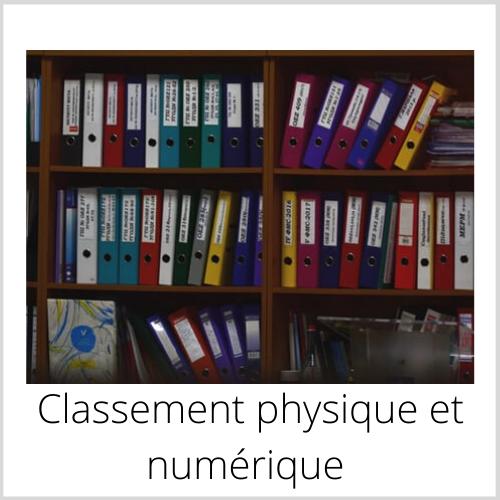 Classement physique et numérique