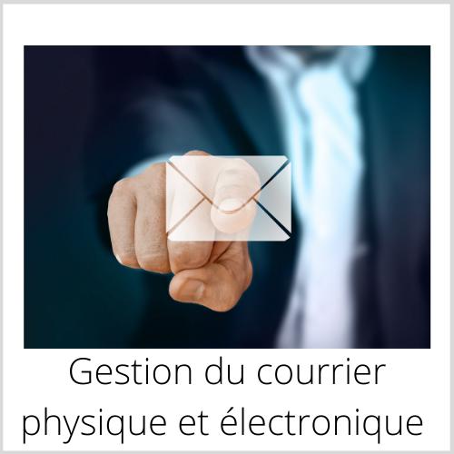 Gestion du courrier physique et électronique