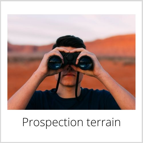 Prospection terrain
