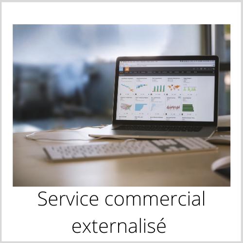 Service commercial externalisé