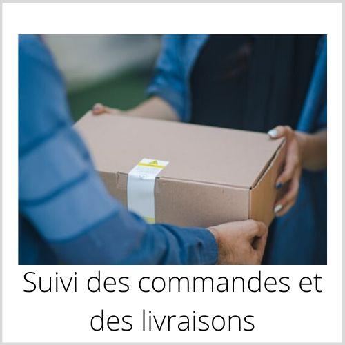 suivi commandes et livraisons